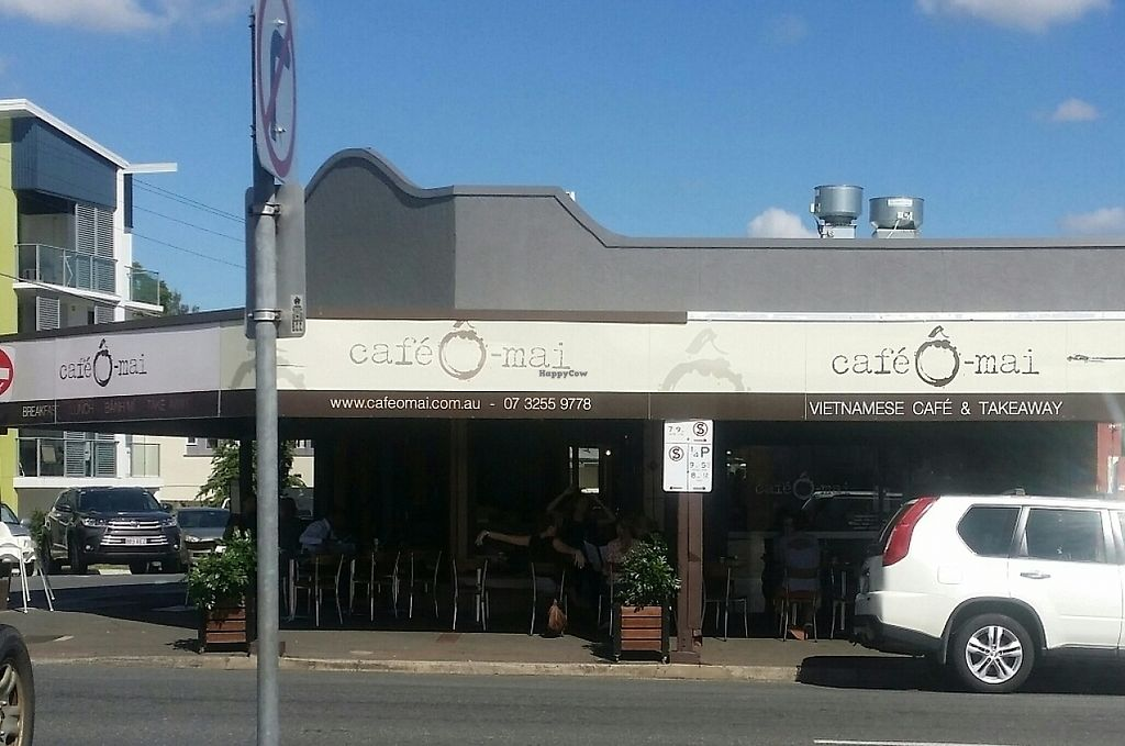 """Photo of Cafe O Mai  by <a href=""""/members/profile/Mike%20Munsie"""">Mike Munsie</a> <br/>street front <br/> May 23, 2017  - <a href='/contact/abuse/image/83223/261597'>Report</a>"""