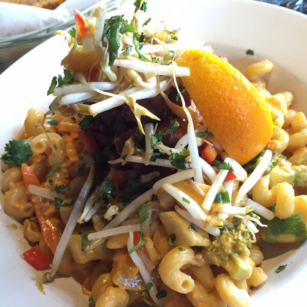 "Photo of Nine Mile West  by <a href=""/members/profile/halfthejob"">halfthejob</a> <br/>Dinner special, vegan option, at Nine Mile West.  <br/> December 6, 2016  - <a href='/contact/abuse/image/83250/197864'>Report</a>"