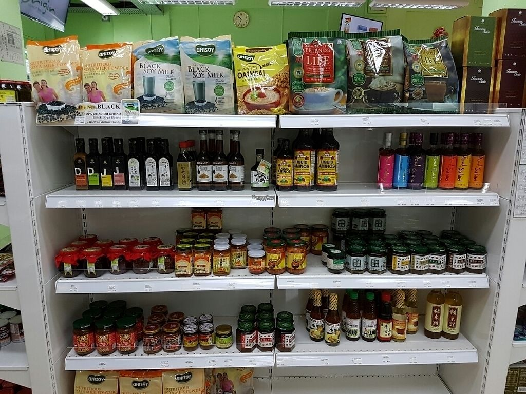 """Photo of Origin Mart  by <a href=""""/members/profile/Orgoknight"""">Orgoknight</a> <br/>neat display of healthier options for sauces and condiments <br/> January 20, 2017  - <a href='/contact/abuse/image/83252/213533'>Report</a>"""