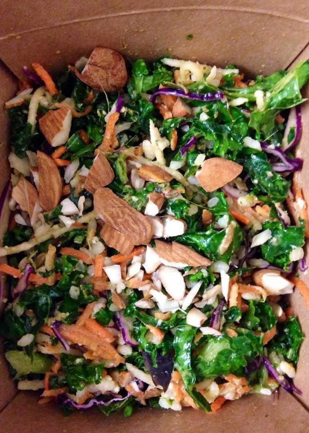 """Photo of Green Bear Coffee - Peytral  by <a href=""""/members/profile/community"""">community</a> <br/>kale salad  <br/> December 14, 2016  - <a href='/contact/abuse/image/83260/200886'>Report</a>"""