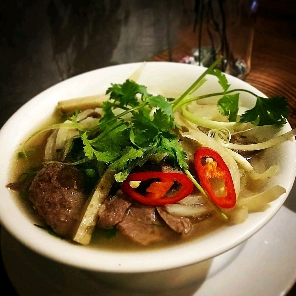 """Photo of Minh Chay - Hang Gai  by <a href=""""/members/profile/cdnvegan"""">cdnvegan</a> <br/>Hanoi Pho <br/> February 5, 2018  - <a href='/contact/abuse/image/83266/355222'>Report</a>"""