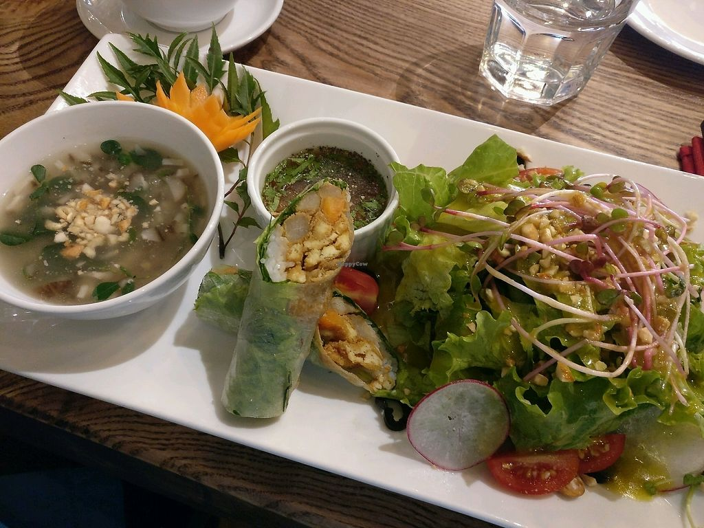 """Photo of Minh Chay - Hang Gai  by <a href=""""/members/profile/cdnvegan"""">cdnvegan</a> <br/>Asian European Combo <br/> February 5, 2018  - <a href='/contact/abuse/image/83266/355223'>Report</a>"""
