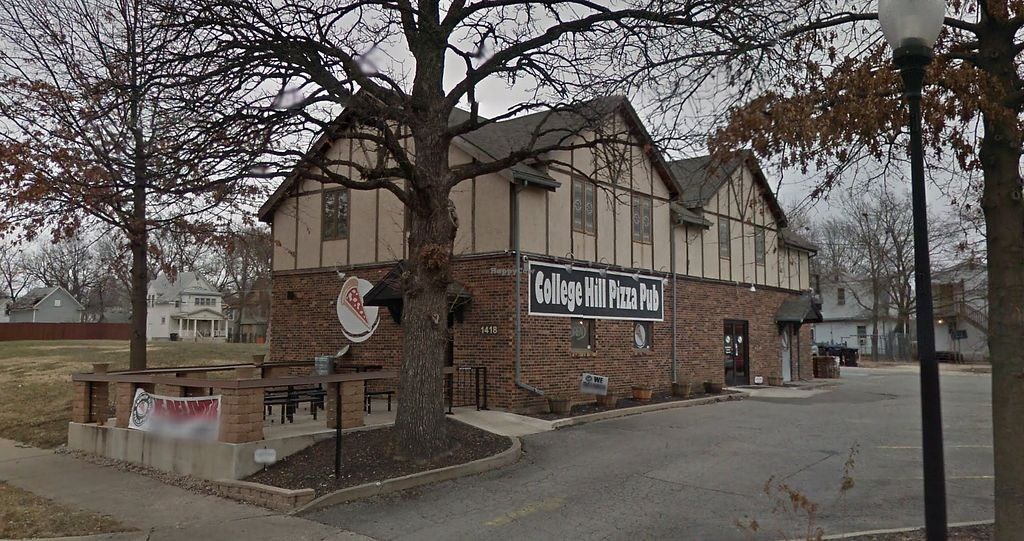 """Photo of College Hill Pizza Pub  by <a href=""""/members/profile/cmor15"""">cmor15</a> <br/>Street view image <br/> June 28, 2017  - <a href='/contact/abuse/image/83275/274489'>Report</a>"""