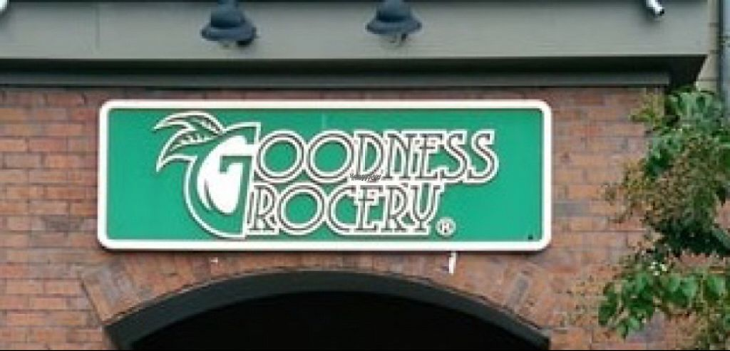 "Photo of Goodness Grocery  by <a href=""/members/profile/Claudette1620"">Claudette1620</a> <br/>sign <br/> November 30, 2016  - <a href='/contact/abuse/image/83289/196084'>Report</a>"
