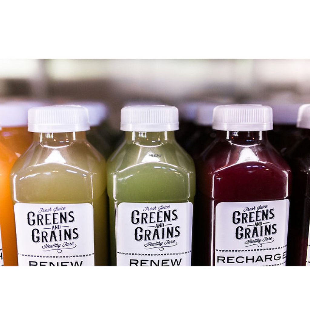"""Photo of Greens and Grains Express  by <a href=""""/members/profile/Leean"""">Leean</a> <br/>cold pressed juice  <br/> November 28, 2016  - <a href='/contact/abuse/image/83301/195284'>Report</a>"""