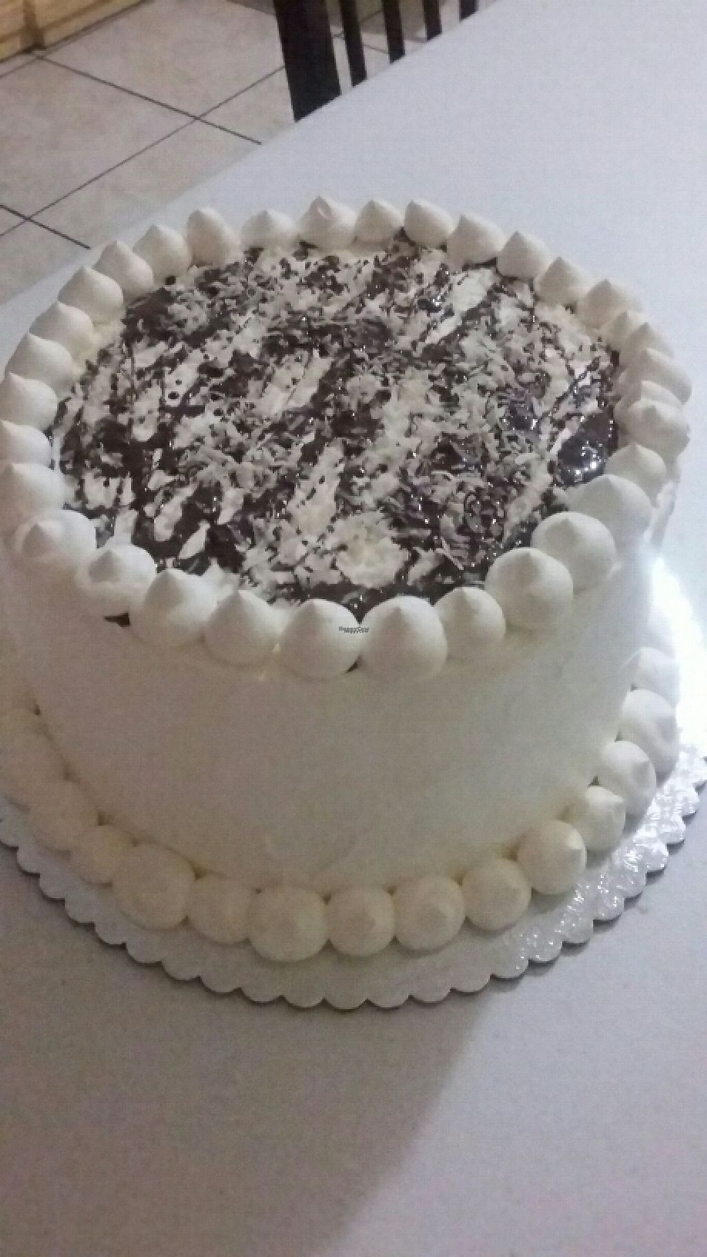 """Photo of Eco Vegan Bakery  by <a href=""""/members/profile/aracelisup"""">aracelisup</a> <br/>Samoa Cake (chocolate cake with date caramel, topped with shredded coconut and melted chocolate) <br/> December 19, 2016  - <a href='/contact/abuse/image/83312/202812'>Report</a>"""