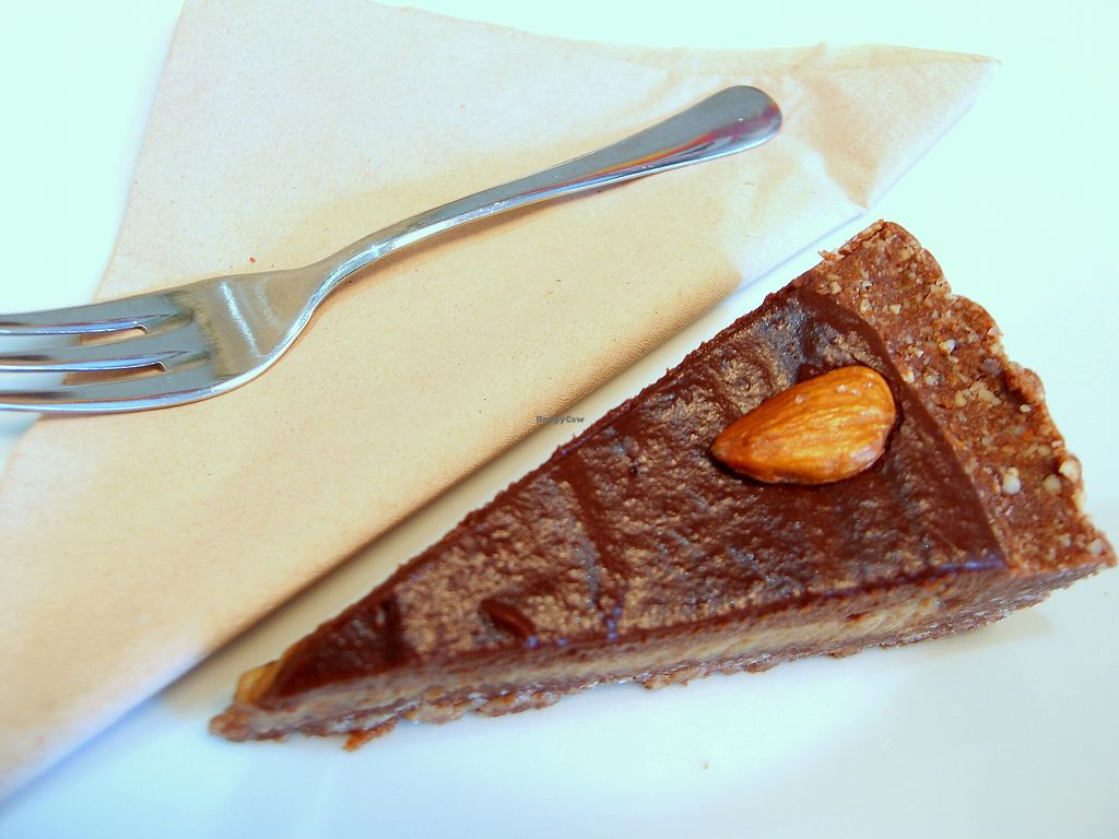 "Photo of Picnic  by <a href=""/members/profile/SofiaVegana"">SofiaVegana</a> <br/>Raw salted caramel and chocolate tart <br/> August 30, 2017  - <a href='/contact/abuse/image/83322/298846'>Report</a>"
