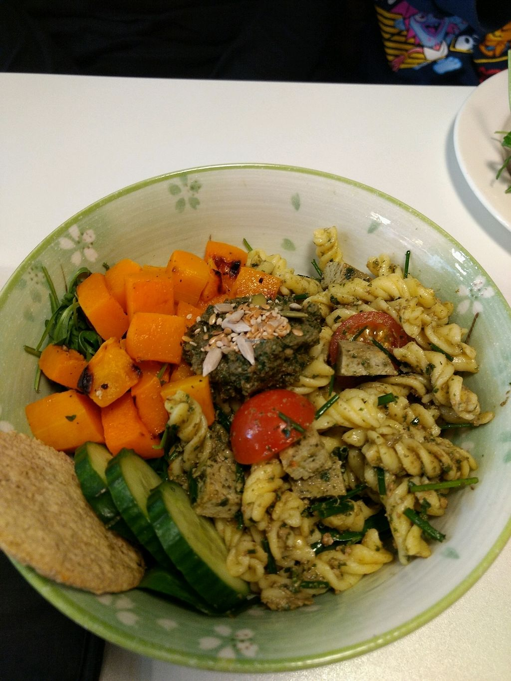 "Photo of Picnic  by <a href=""/members/profile/craigmc"">craigmc</a> <br/>pesto pasta bowl <br/> January 27, 2018  - <a href='/contact/abuse/image/83322/351439'>Report</a>"