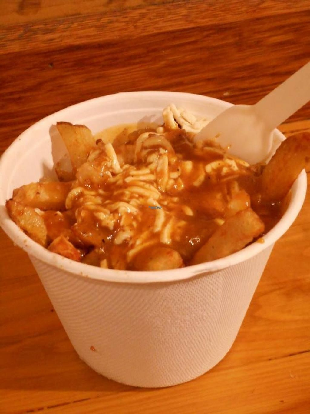 "Photo of Poutini's House of Poutine - King St  by <a href=""/members/profile/Mu"">Mu</a> <br/>small portion <br/> November 28, 2016  - <a href='/contact/abuse/image/83334/195419'>Report</a>"