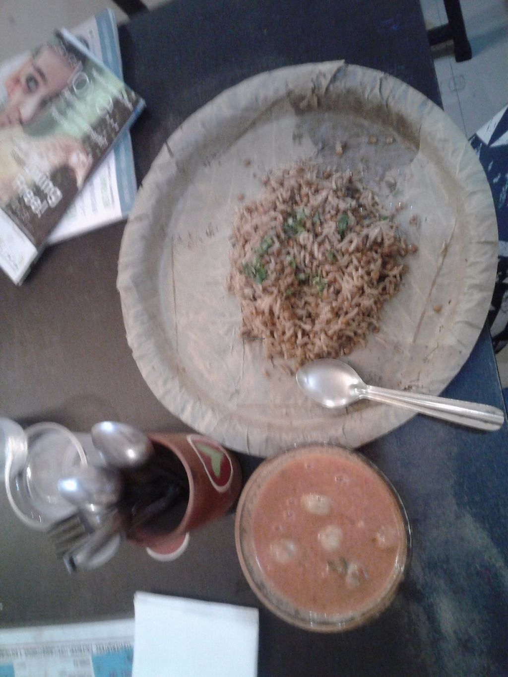 "Photo of Granny's Bowl  by <a href=""/members/profile/paoletta"">paoletta</a> <br/>Rice and brown lentils with tomatoes mushrooms soups <br/> June 1, 2017  - <a href='/contact/abuse/image/83340/264827'>Report</a>"