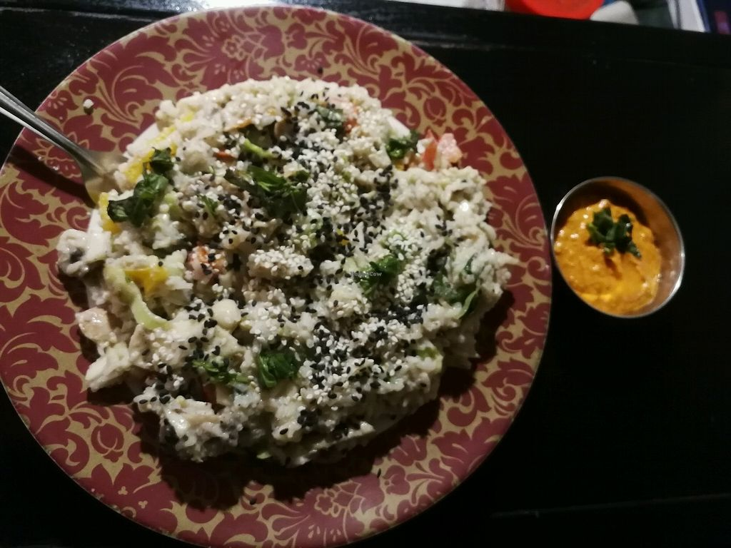"Photo of Granny's Bowl  by <a href=""/members/profile/DaniUoc"">DaniUoc</a> <br/>vegetable rice with cashew sauce <br/> February 27, 2018  - <a href='/contact/abuse/image/83340/364544'>Report</a>"