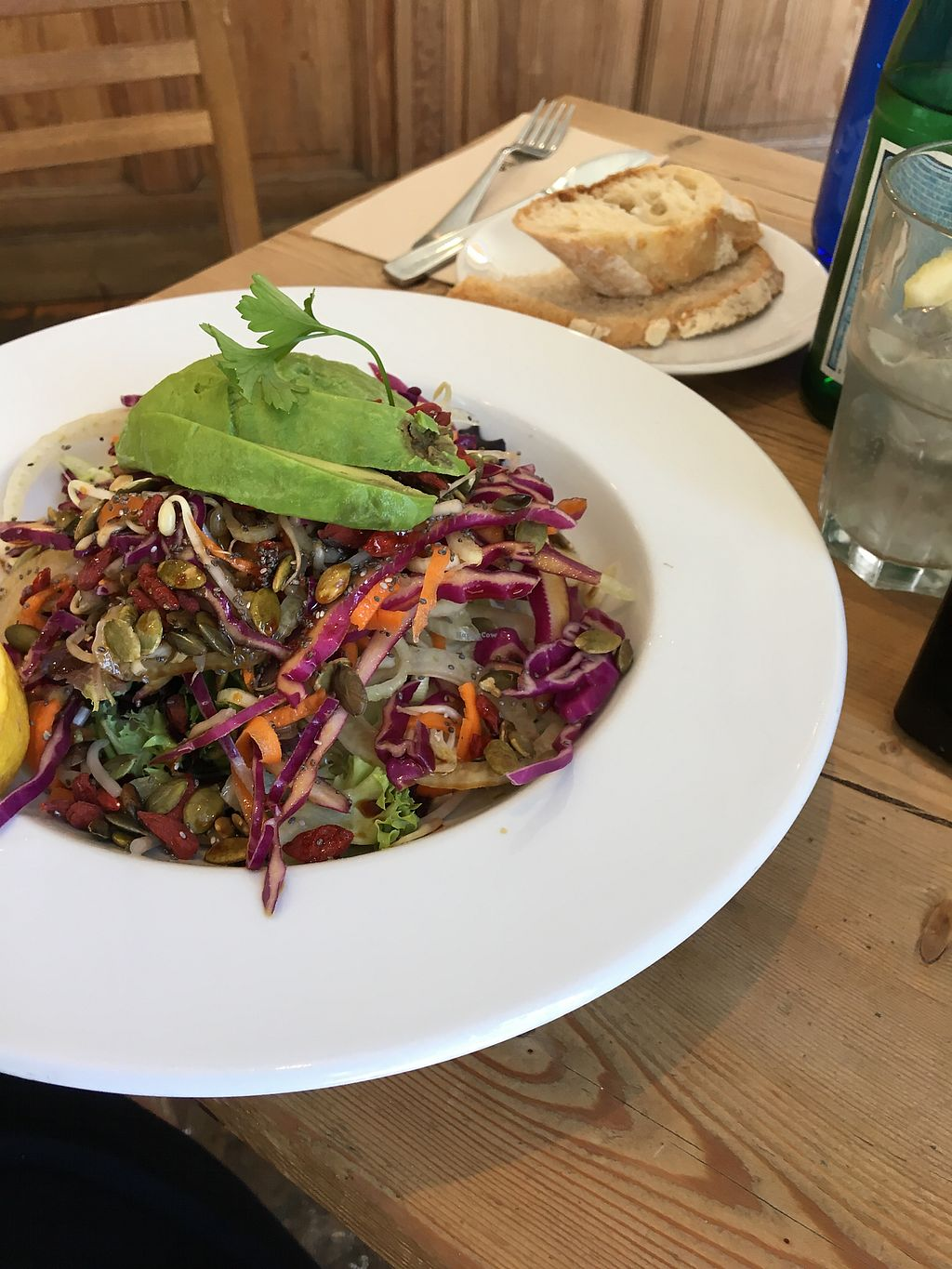 """Photo of Le Pain Quotidien - Gran Via  by <a href=""""/members/profile/NaamaCohen"""">NaamaCohen</a> <br/>salad  <br/> July 16, 2017  - <a href='/contact/abuse/image/83346/281040'>Report</a>"""
