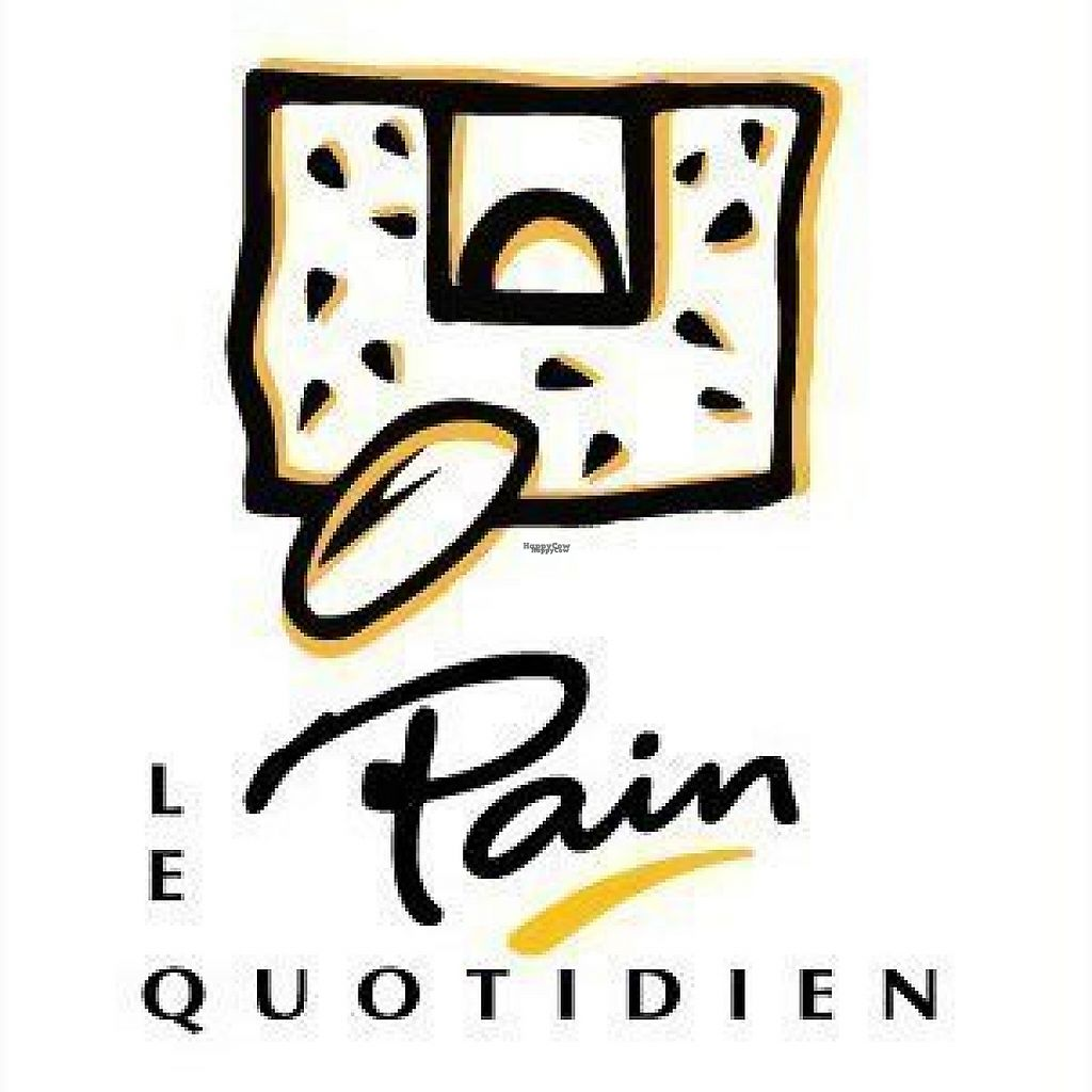 """Photo of Le Pain Quotidien  by <a href=""""/members/profile/community"""">community</a> <br/>logo  <br/> February 12, 2017  - <a href='/contact/abuse/image/83349/225605'>Report</a>"""