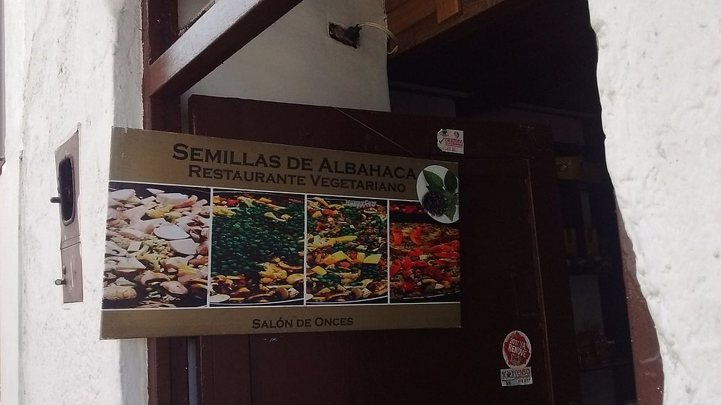 """Photo of Semillas de Albahaca  by <a href=""""/members/profile/maynard7"""">maynard7</a> <br/>Sign in doorway <br/> March 23, 2017  - <a href='/contact/abuse/image/83375/240068'>Report</a>"""