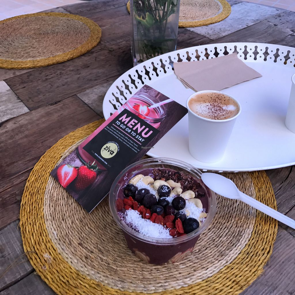 "Photo of Ziva To Go - Center  by <a href=""/members/profile/Malau"">Malau</a> <br/>Acai Bowl <br/> May 27, 2017  - <a href='/contact/abuse/image/83384/262918'>Report</a>"