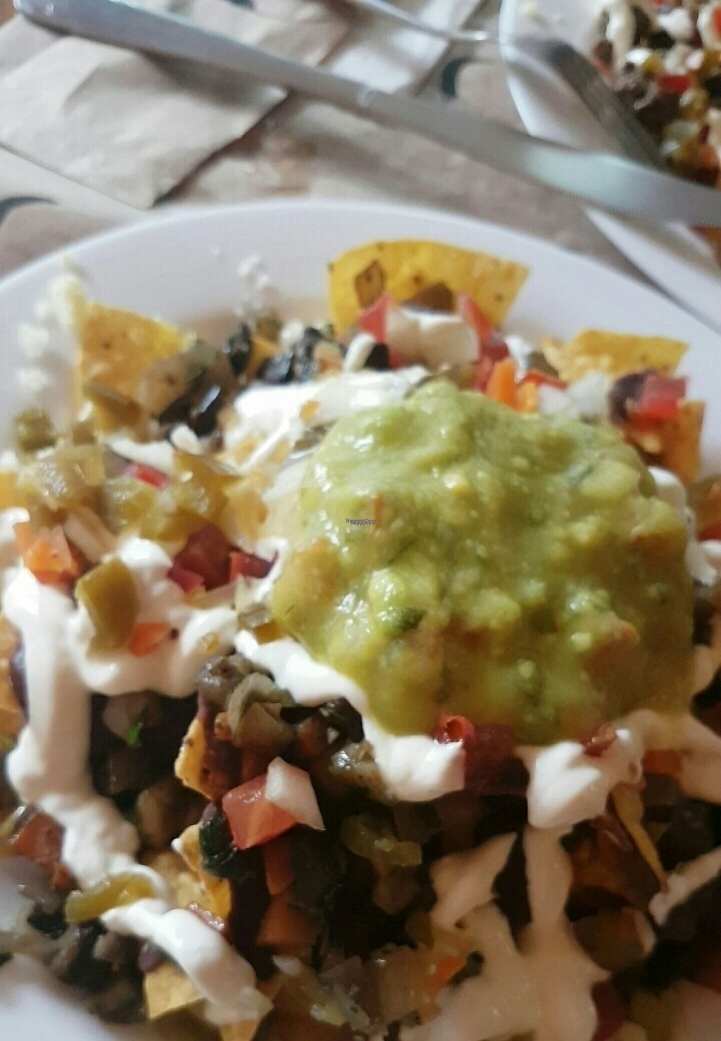 "Photo of Azteka  by <a href=""/members/profile/LilEmolas"">LilEmolas</a> <br/>vegetarian nachos  <br/> April 15, 2017  - <a href='/contact/abuse/image/83409/248427'>Report</a>"
