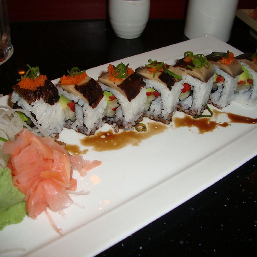 "Photo of Miyaki Sushi  by <a href=""/members/profile/Amytara214"">Amytara214</a> <br/>Portobello Roll  <br/> April 16, 2017  - <a href='/contact/abuse/image/83411/249141'>Report</a>"