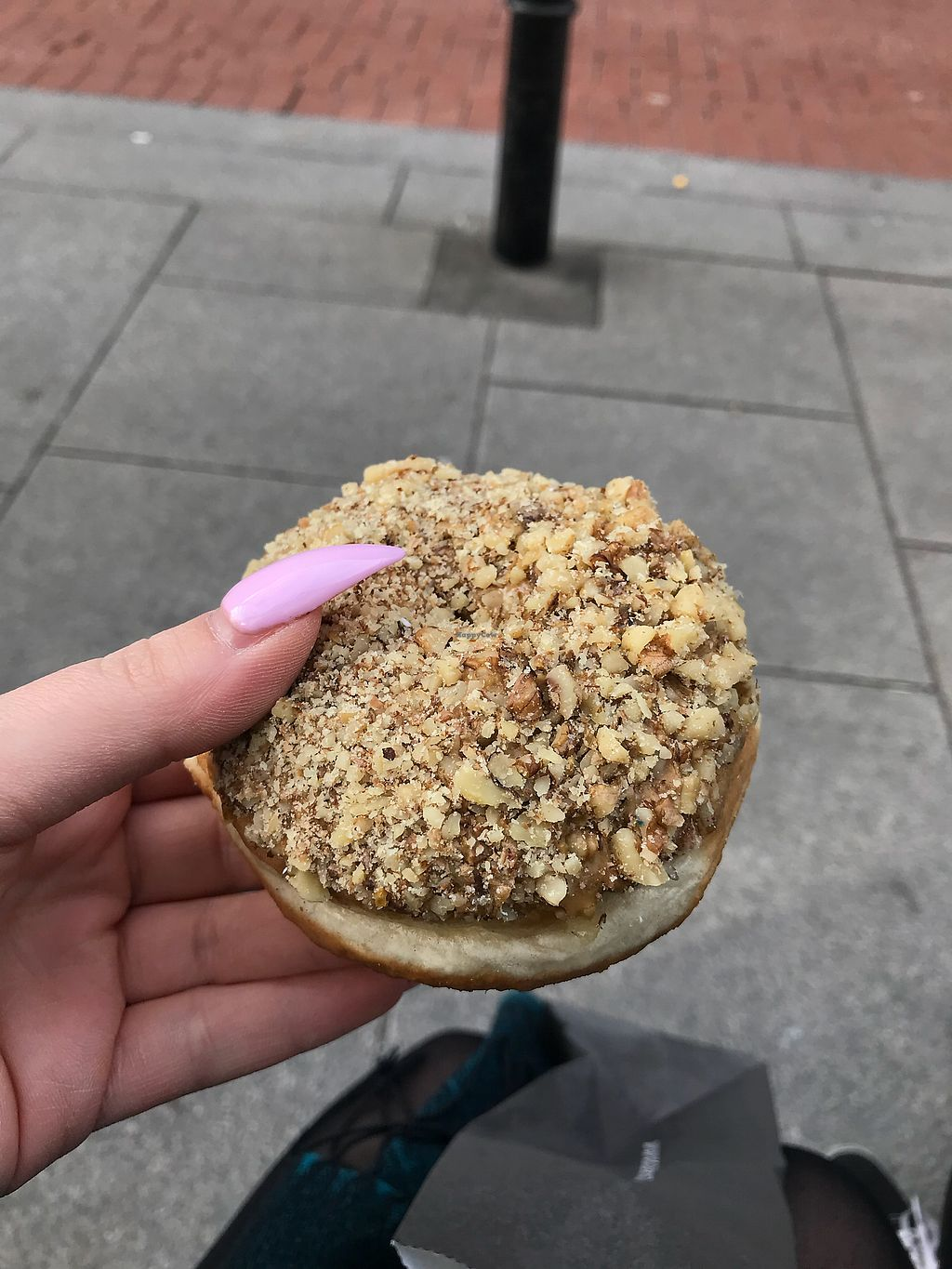 """Photo of The Rolling Donut - Dublin 1  by <a href=""""/members/profile/mgeorgioh"""">mgeorgioh</a> <br/>Coffee and walnut  <br/> March 26, 2018  - <a href='/contact/abuse/image/83413/376523'>Report</a>"""