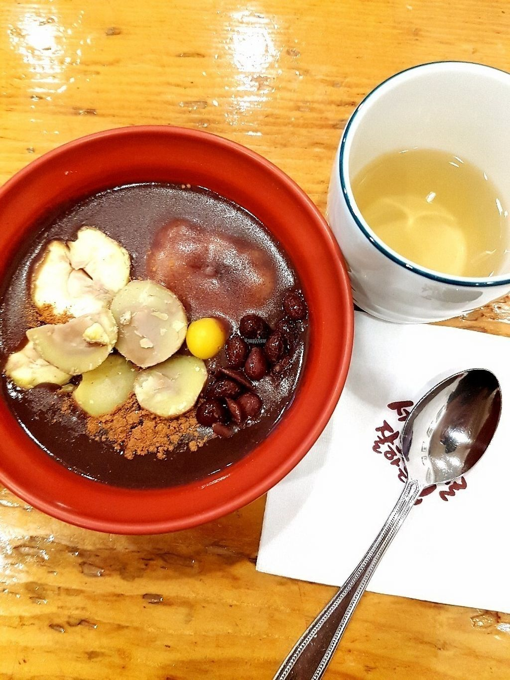 """Photo of The Second Best in Seoul - 서울서둘째로잘하는집  by <a href=""""/members/profile/natalik"""">natalik</a> <br/>Heavenly red bean porridge <br/> November 30, 2016  - <a href='/contact/abuse/image/83430/195911'>Report</a>"""