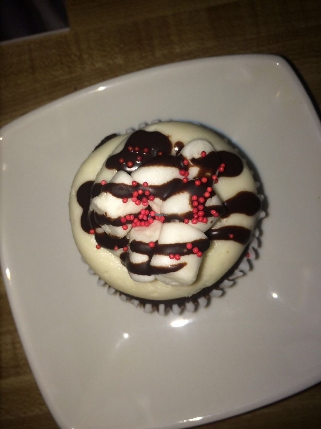 "Photo of Two Birds Baking Company  by <a href=""/members/profile/alexriyan"">alexriyan</a> <br/>Peppermint hot chocolate cupcake <br/> February 17, 2017  - <a href='/contact/abuse/image/83467/227482'>Report</a>"