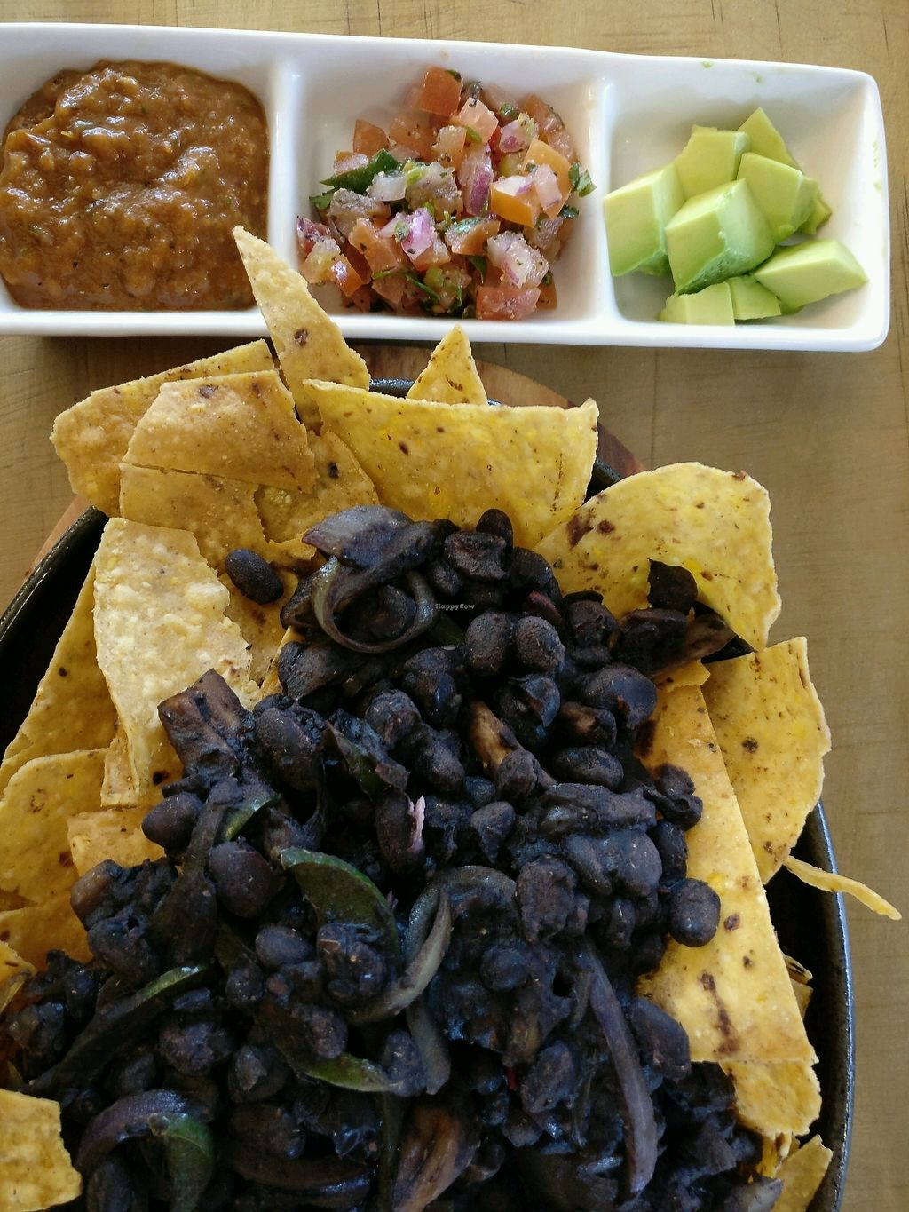 "Photo of Abracadabra Cafe & Bar  by <a href=""/members/profile/Aloo"">Aloo</a> <br/>black bean vegan nachos <br/> September 14, 2017  - <a href='/contact/abuse/image/83470/304103'>Report</a>"