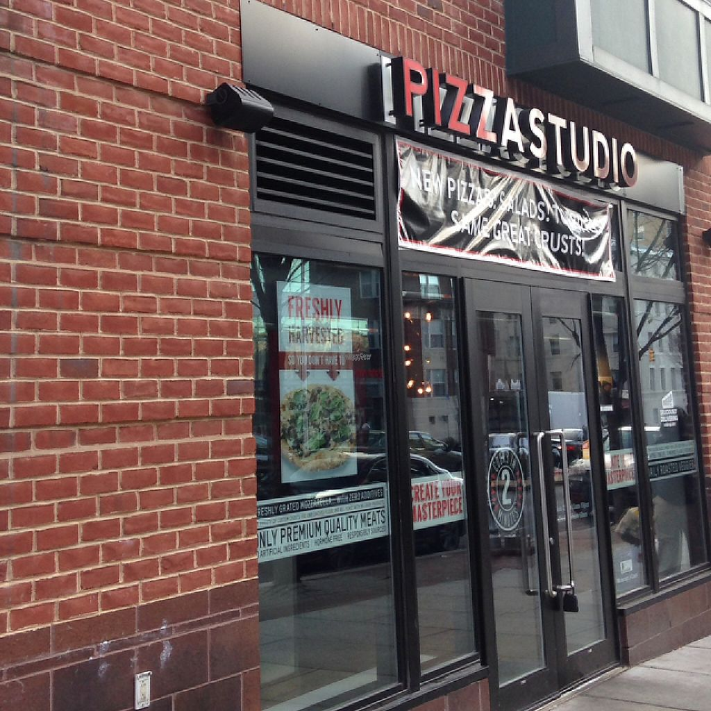 """Photo of Pizza Studio  by <a href=""""/members/profile/nardanddee"""">nardanddee</a> <br/>exterior <br/> December 5, 2016  - <a href='/contact/abuse/image/83472/197724'>Report</a>"""
