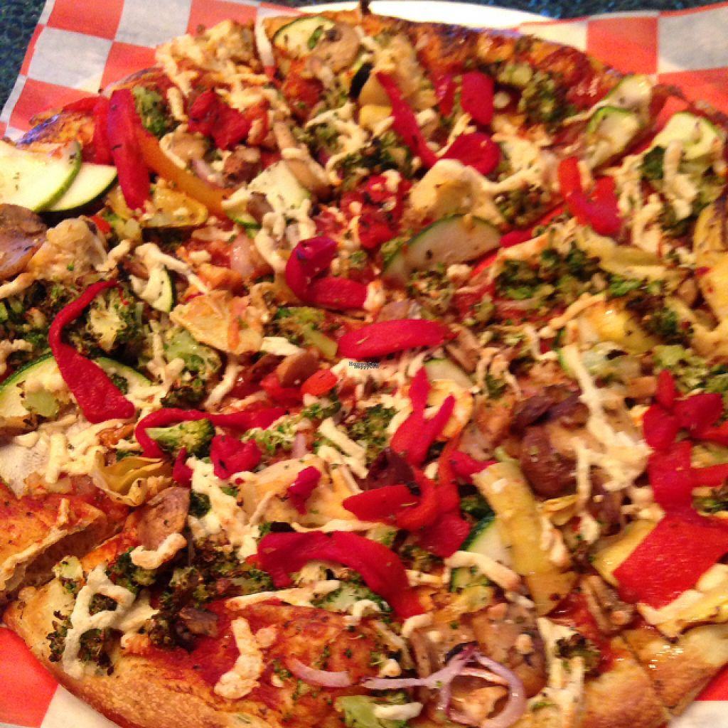 """Photo of Pizza Studio  by <a href=""""/members/profile/nardanddee"""">nardanddee</a> <br/>create your own pizza <br/> December 5, 2016  - <a href='/contact/abuse/image/83472/197725'>Report</a>"""