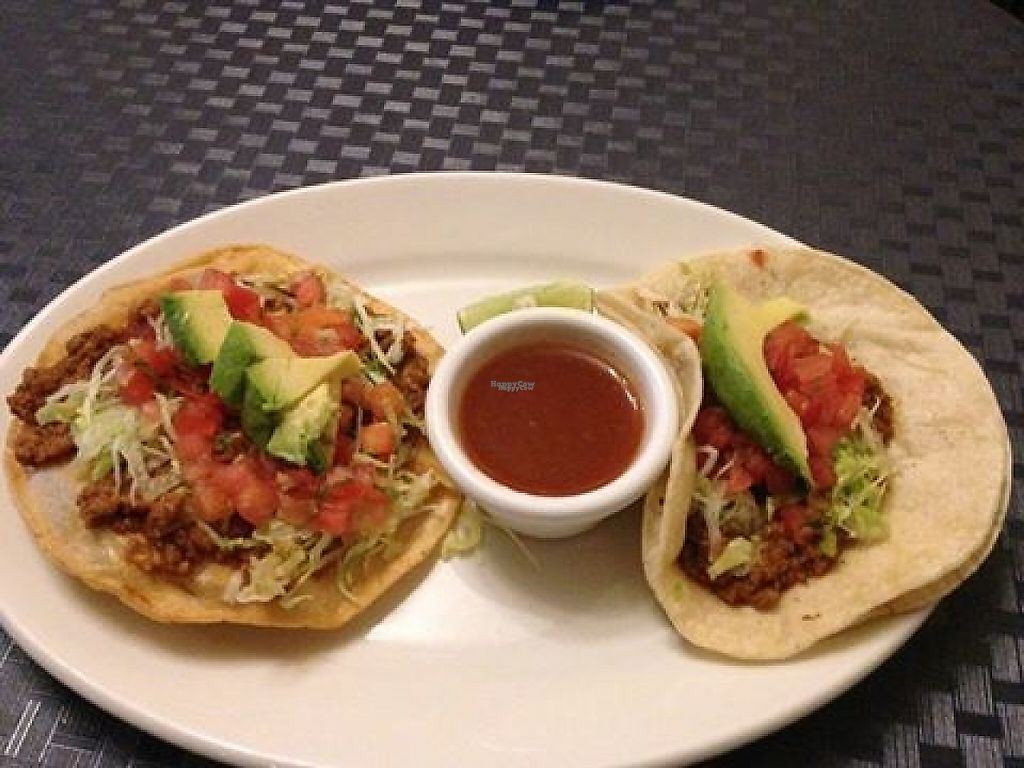 """Photo of The Guanaquita Restaurant  by <a href=""""/members/profile/community"""">community</a> <br/>Vegan Enchilada <br/> December 1, 2016  - <a href='/contact/abuse/image/83475/196423'>Report</a>"""