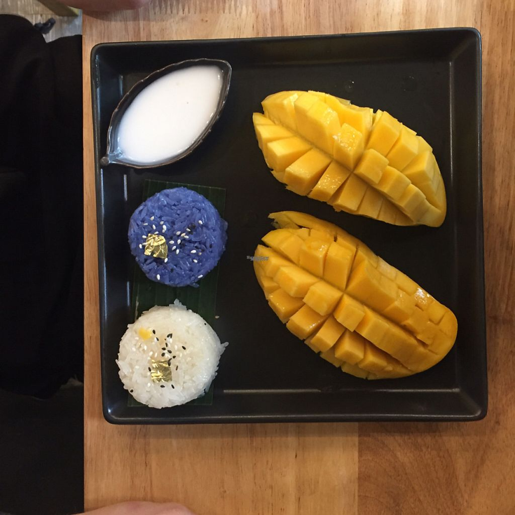 """Photo of The Mango Garden  by <a href=""""/members/profile/MattiLuoma-Pantti"""">MattiLuoma-Pantti</a> <br/>Mango Sticky Rice <br/> December 6, 2016  - <a href='/contact/abuse/image/83476/197797'>Report</a>"""