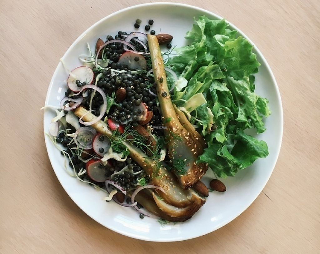 """Photo of Le Faitout Vegan  by <a href=""""/members/profile/JustineH"""">JustineH</a> <br/>Lentil salad with candied fennel <br/> December 3, 2016  - <a href='/contact/abuse/image/83489/196899'>Report</a>"""