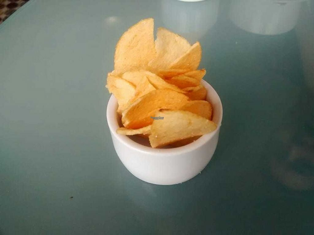 """Photo of Musicker  by <a href=""""/members/profile/TrixieFirecracker"""">TrixieFirecracker</a> <br/>Small ramekin of chips on the side <br/> December 31, 2016  - <a href='/contact/abuse/image/83500/206623'>Report</a>"""