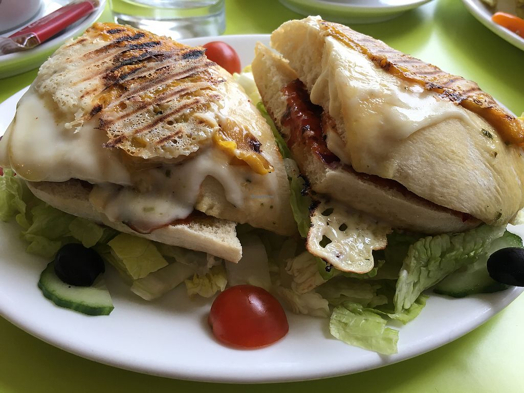 """Photo of Musicker  by <a href=""""/members/profile/radiocaz"""">radiocaz</a> <br/>Make your own panini with vegan cheese and all the veg! <br/> March 30, 2018  - <a href='/contact/abuse/image/83500/378387'>Report</a>"""