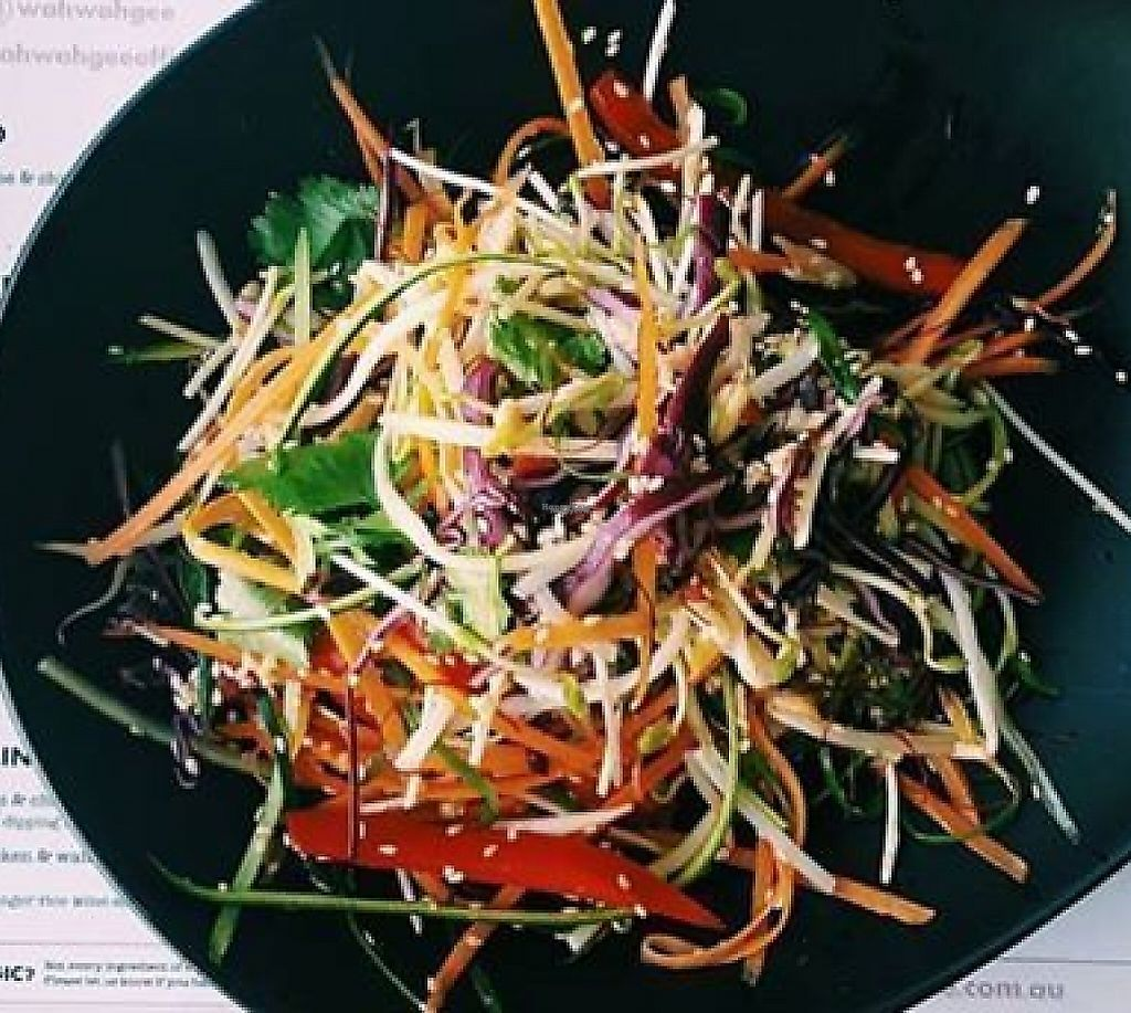 """Photo of Wah Wah Gee  by <a href=""""/members/profile/community"""">community</a> <br/>Ask for vegan menu <br/> December 6, 2016  - <a href='/contact/abuse/image/83507/256989'>Report</a>"""