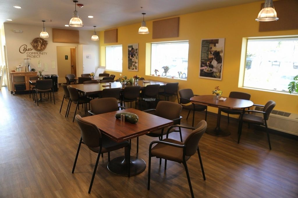 """Photo of Ceres Cafe  by <a href=""""/members/profile/lilycouch"""">lilycouch</a> <br/>Ceres cafe has indoor and outdoor seating available <br/> December 9, 2016  - <a href='/contact/abuse/image/83526/198749'>Report</a>"""