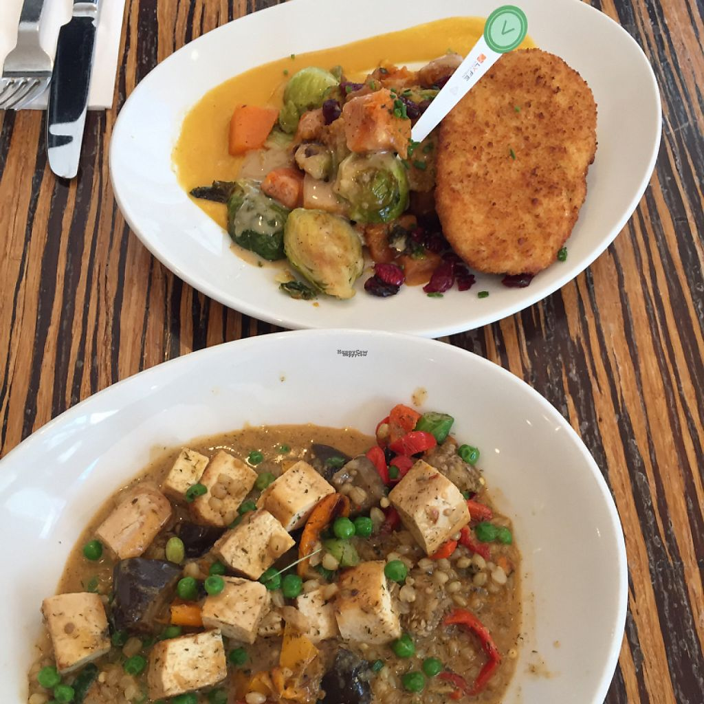 """Photo of LYFE Kitchen - Gold Coast  by <a href=""""/members/profile/MaddyR"""">MaddyR</a> <br/>Thai red curry and Unfried scallopini <br/> March 20, 2017  - <a href='/contact/abuse/image/83557/238788'>Report</a>"""