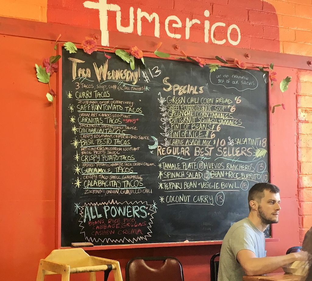 "Photo of Tumerico  by <a href=""/members/profile/Dr.G"">Dr.G</a> <br/>Turmeric menu <br/> November 22, 2017  - <a href='/contact/abuse/image/83572/328167'>Report</a>"