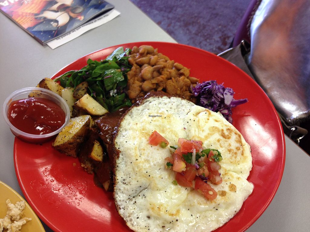 "Photo of Tumerico  by <a href=""/members/profile/AutumnTierra"">AutumnTierra</a> <br/>Tamale breakfast (vegetarian)  <br/> January 1, 2018  - <a href='/contact/abuse/image/83572/341513'>Report</a>"