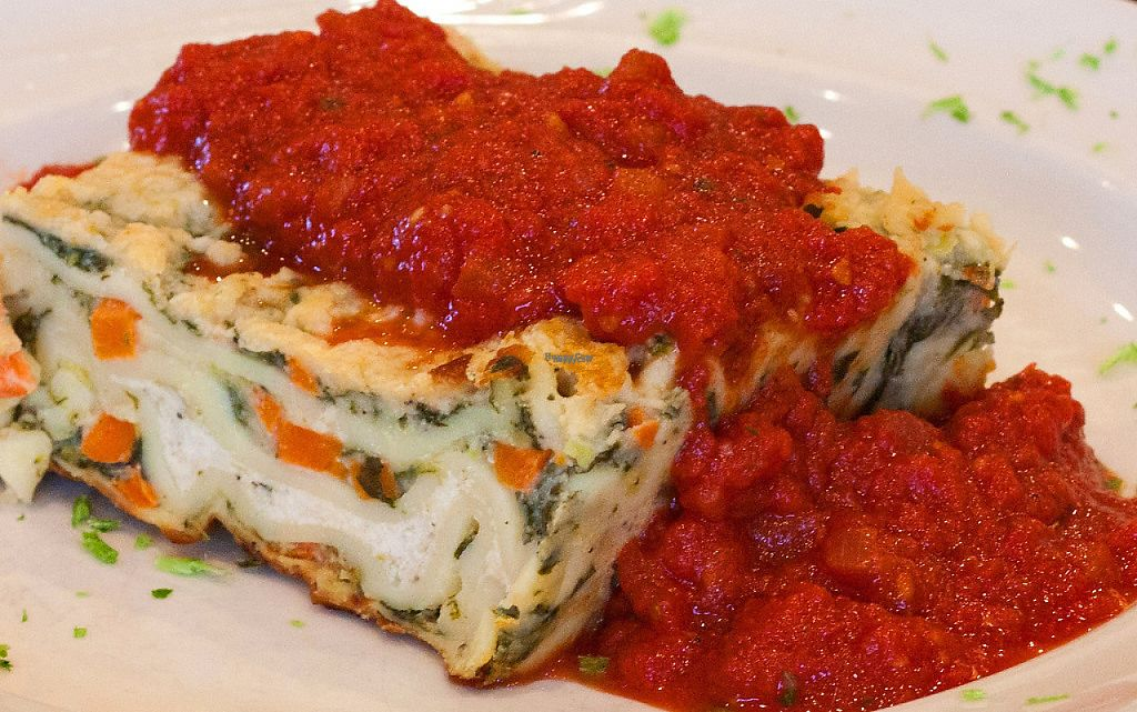"Photo of Ike's Restaurant  by <a href=""/members/profile/JoeyMack"">JoeyMack</a> <br/>Vegetarian Lasagna <br/> December 6, 2016  - <a href='/contact/abuse/image/83623/197837'>Report</a>"