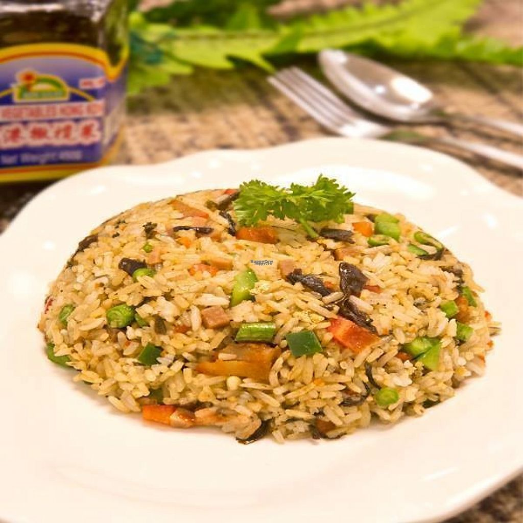 """Photo of CLOSED: Kwan Inn Vegetarian - Punggol  by <a href=""""/members/profile/community"""">community</a> <br/>Chinese fried rice  <br/> December 16, 2016  - <a href='/contact/abuse/image/83625/201555'>Report</a>"""