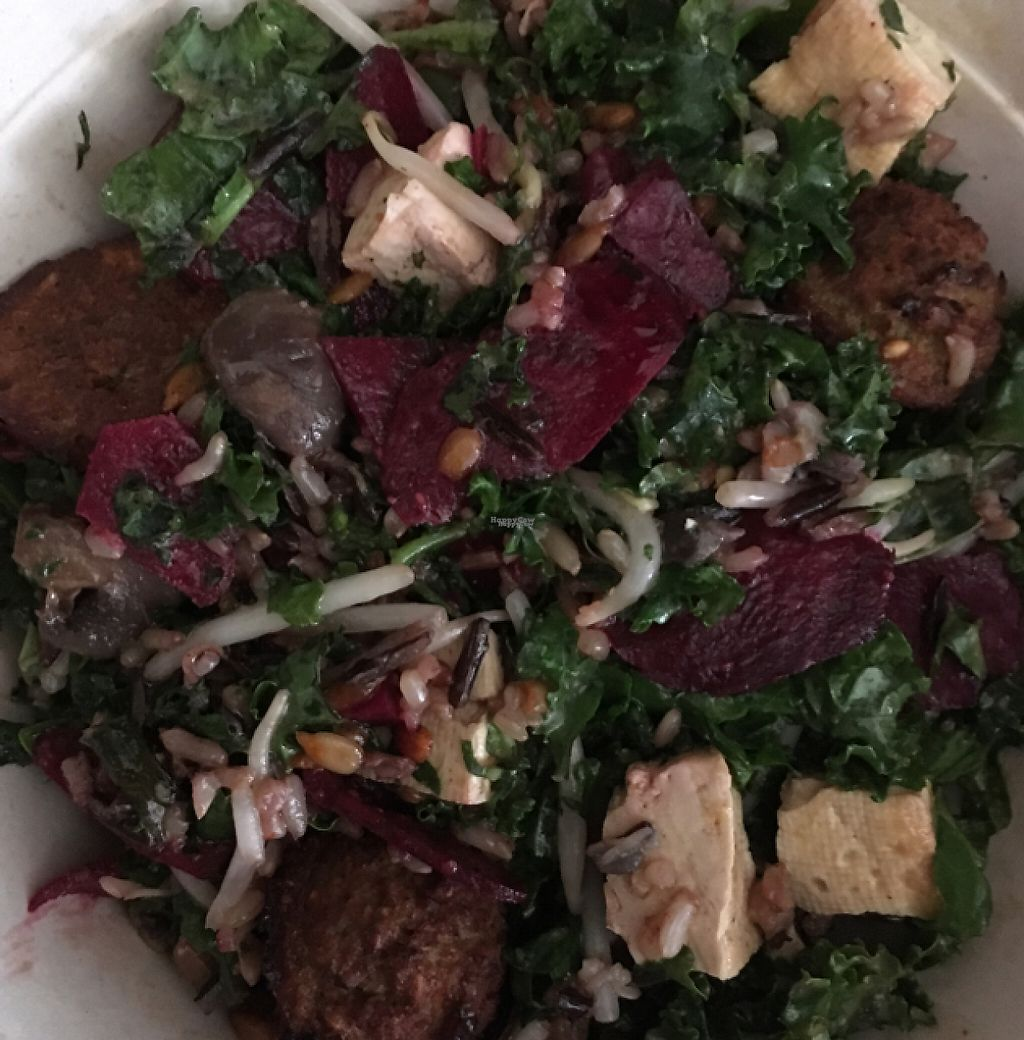 """Photo of sweetgreen  by <a href=""""/members/profile/nardanddee"""">nardanddee</a> <br/>shroomami with added falafel <br/> December 21, 2016  - <a href='/contact/abuse/image/83638/203917'>Report</a>"""