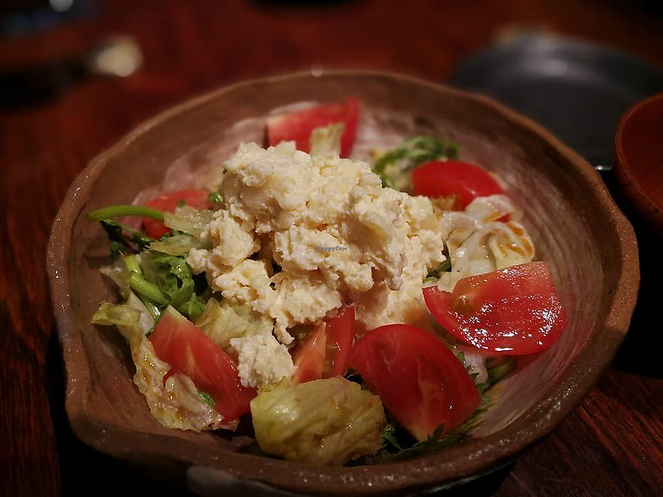 """Photo of Megumi  by <a href=""""/members/profile/Brian%20Ash"""">Brian Ash</a> <br/>salad with smashed potatoes- my favorite dish <br/> June 24, 2017  - <a href='/contact/abuse/image/83651/272973'>Report</a>"""