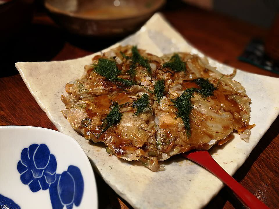 """Photo of Megumi  by <a href=""""/members/profile/Brian%20Ash"""">Brian Ash</a> <br/>okonomiyaki (pancake) <br/> June 24, 2017  - <a href='/contact/abuse/image/83651/272974'>Report</a>"""