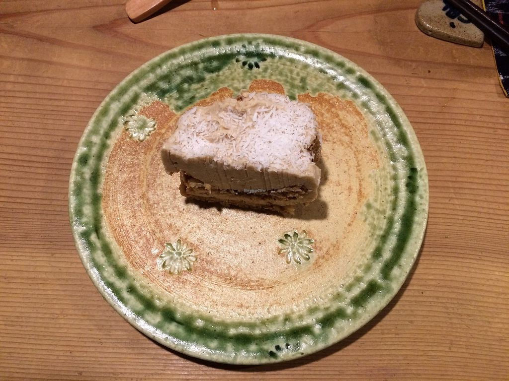 """Photo of Megumi  by <a href=""""/members/profile/TheFitFlightattendant"""">TheFitFlightattendant</a> <br/>Homemade vegan cake <br/> July 18, 2017  - <a href='/contact/abuse/image/83651/281926'>Report</a>"""