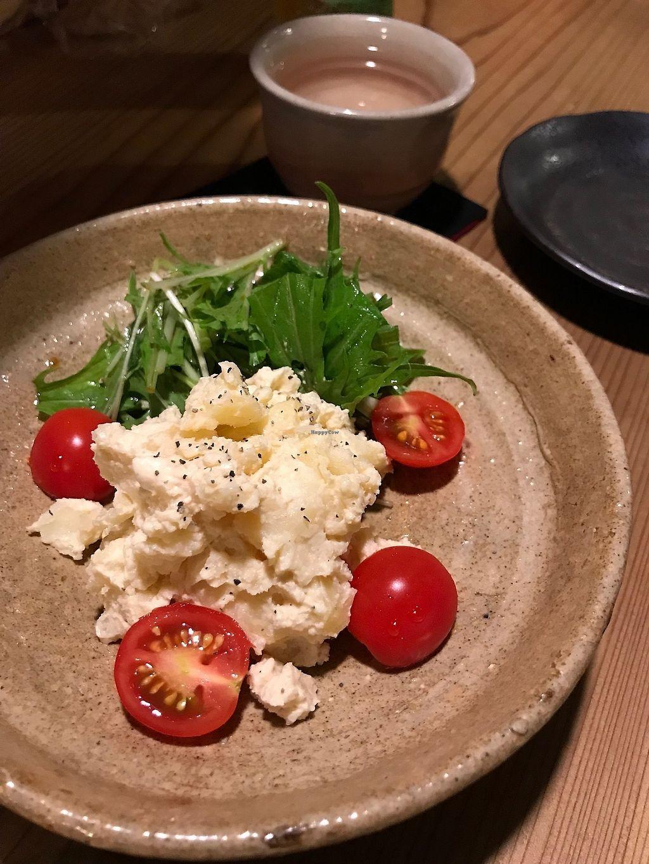 "Photo of Megumi  by <a href=""/members/profile/zubora"">zubora</a> <br/>Vegan potato salad <br/> October 4, 2017  - <a href='/contact/abuse/image/83651/311545'>Report</a>"