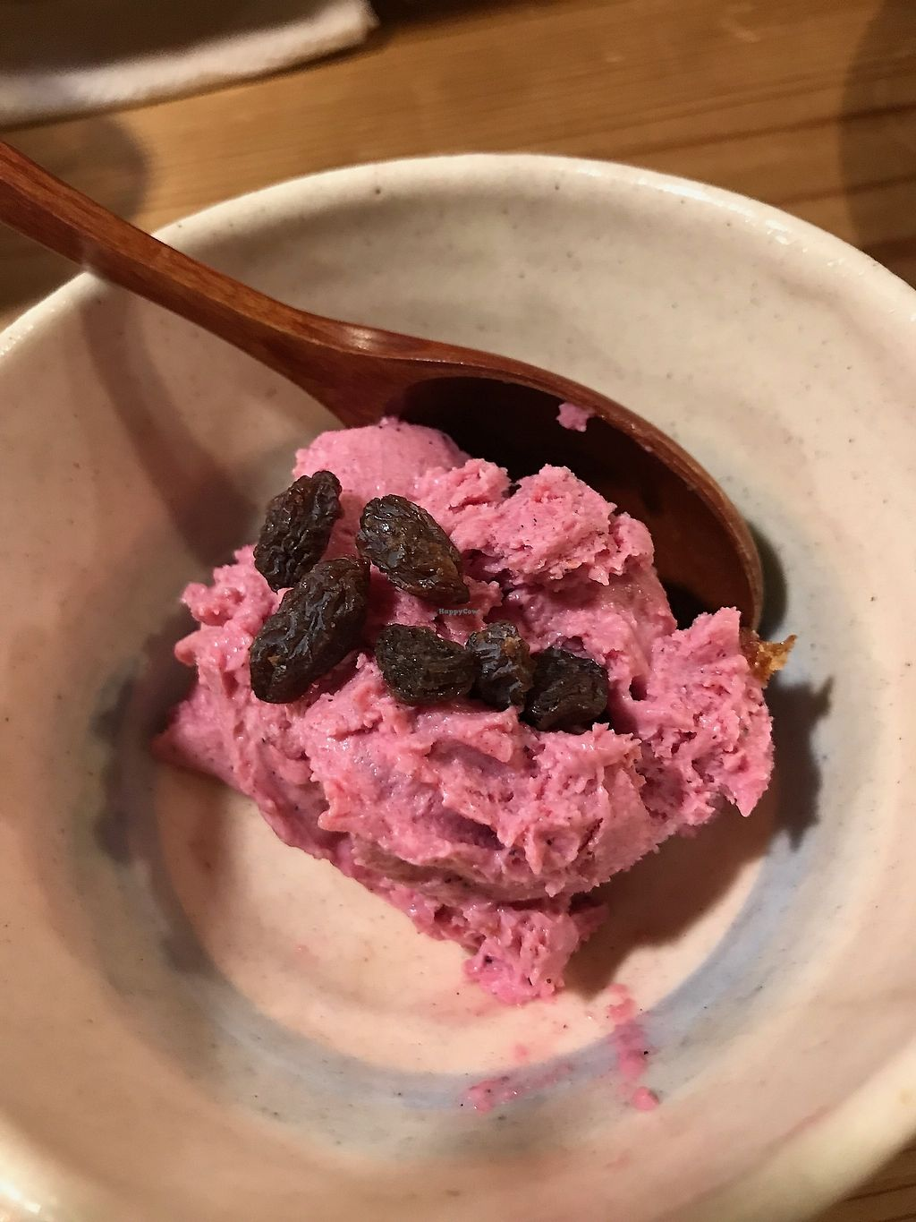 """Photo of Megumi  by <a href=""""/members/profile/zubora"""">zubora</a> <br/>Vegan ice cream with raisins on top <br/> October 4, 2017  - <a href='/contact/abuse/image/83651/311547'>Report</a>"""