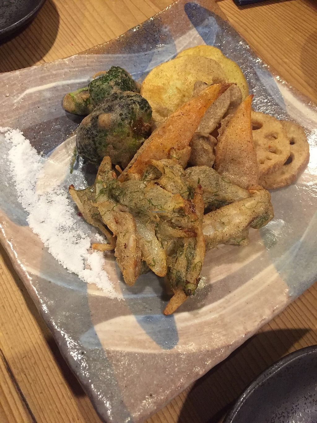 """Photo of Megumi  by <a href=""""/members/profile/linachanxd"""">linachanxd</a> <br/>Tempura Veggies.  <br/> March 2, 2018  - <a href='/contact/abuse/image/83651/365886'>Report</a>"""