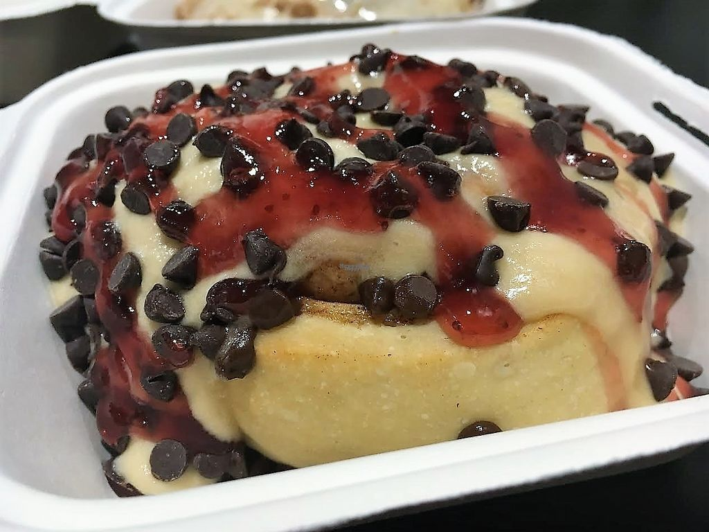 """Photo of Cinnaholic  by <a href=""""/members/profile/Laura1G2C"""">Laura1G2C</a> <br/>PB&J Cinnamon Roll <br/> March 15, 2017  - <a href='/contact/abuse/image/83694/236859'>Report</a>"""
