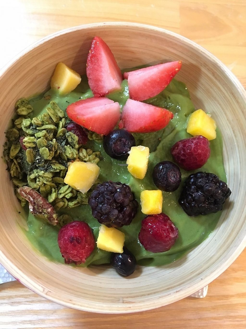 """Photo of Cocolo Kyoto  by <a href=""""/members/profile/shotom"""">shotom</a> <br/>Best Matcha Smoothie Bowl in Kyoto! <br/> February 8, 2017  - <a href='/contact/abuse/image/83701/224110'>Report</a>"""