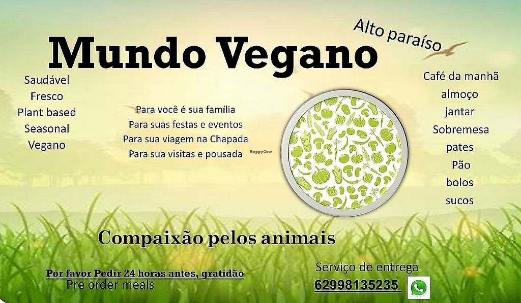 """Photo of Mundo Vegano  by <a href=""""/members/profile/NitzanMetatron"""">NitzanMetatron</a> <br/>Mundo Vegano Vegan World  <br/> December 9, 2016  - <a href='/contact/abuse/image/83712/289832'>Report</a>"""