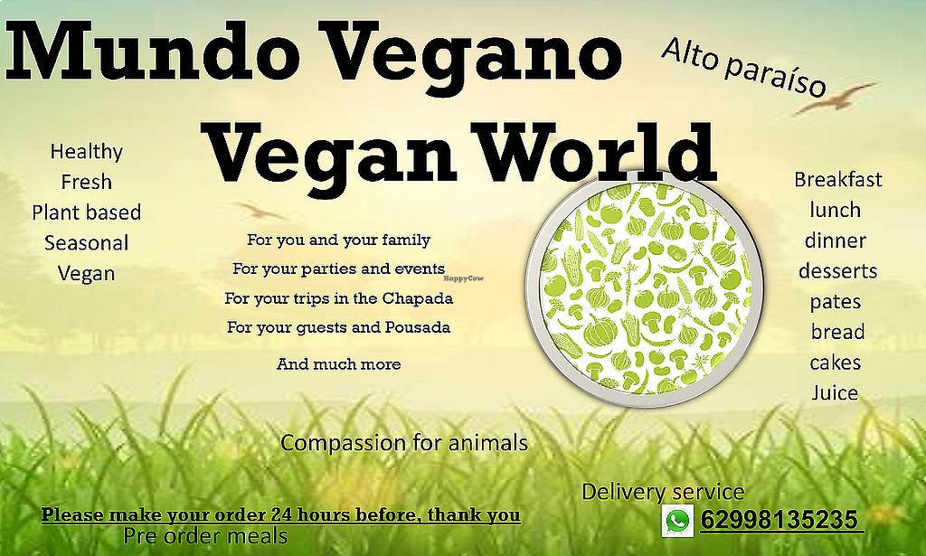 """Photo of Mundo Vegano  by <a href=""""/members/profile/NitzanMetatron"""">NitzanMetatron</a> <br/>Mundo Vegano Vegan World  <br/> December 9, 2016  - <a href='/contact/abuse/image/83712/289833'>Report</a>"""